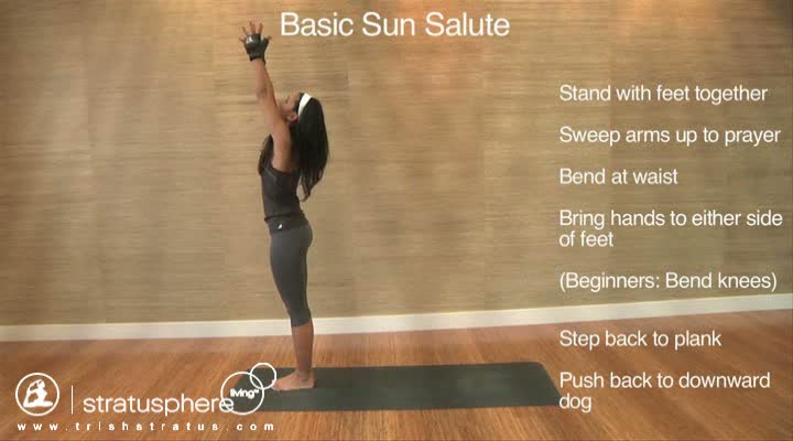 Stratusphere Yoga DVD: Basic Sun Salute