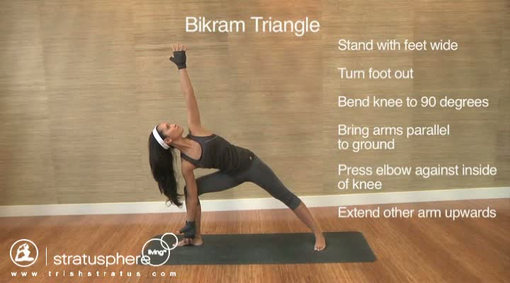 Stratusphere Yoga DVD: Bikram Triangle