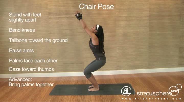 Stratusphere Yoga DVD: Chair Pose