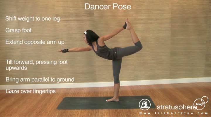 Stratusphere Yoga DVD: Dancer Pose