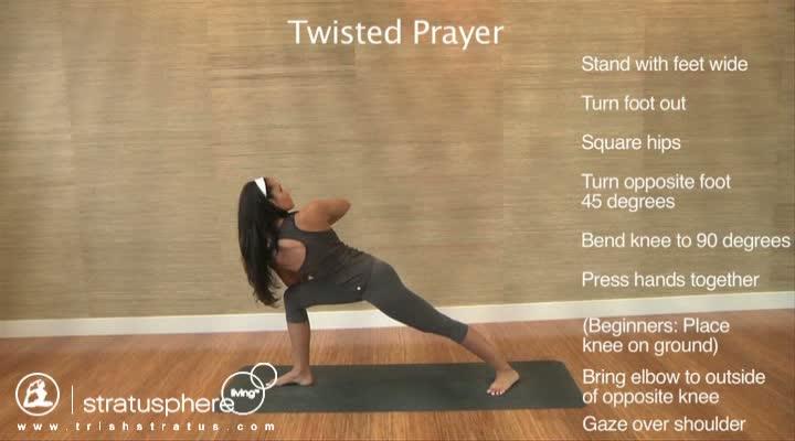 Stratusphere Yoga DVD: Twisted Prayer