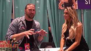 Video: Trish Stratus on The Milo Beasley Show