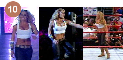 Wwe trish stratus in shorts, virtual reality sex machines