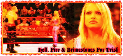 2/2 RAW Results: Hell, Fire & Brimestones For Trish