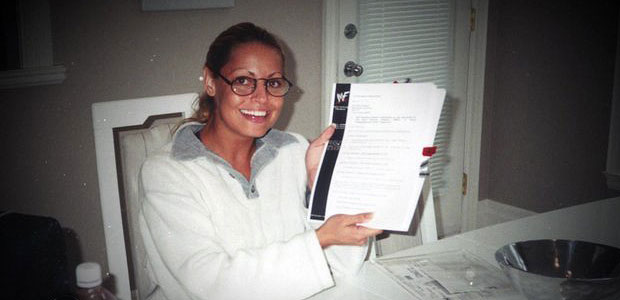 It's official ... Trish has signed with the WWF!