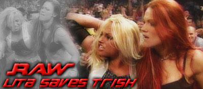 9/15 RAW Results: Lita Saves Trish