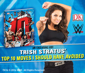 Trish just made the list! The WWE Book of Top 10s