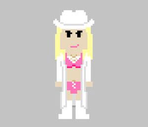 Exclusive: Trish's iconic ring attire reimagined in 8-bit