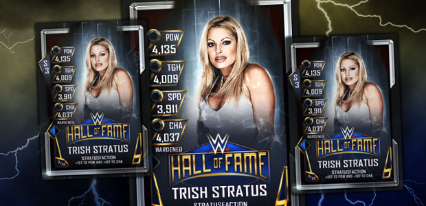Trish among new HOF cards added to WWE SuperCard