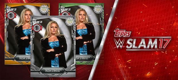 Celebrate WWE SLAM's 1st anniversary with a set of Trish awards