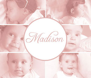 In pictures: Madison's growth through 6 months