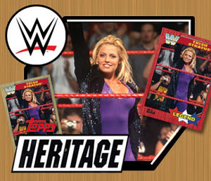 Trish featured in 2017 Topps WWE Heritage set
