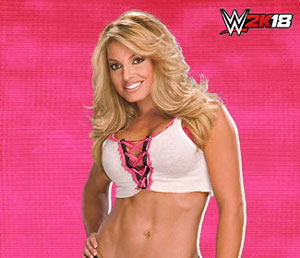 Just announced: Trish in WWE 2K18