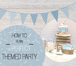 How to plan a perfect themed party: Max's 3rd birthday bash