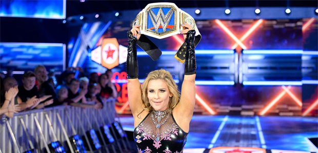 Trish reacts to Natalya breaking her PPV record