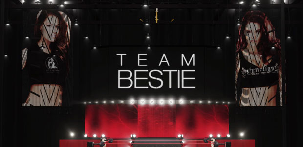 Team Bestie arena in WWE 2K18