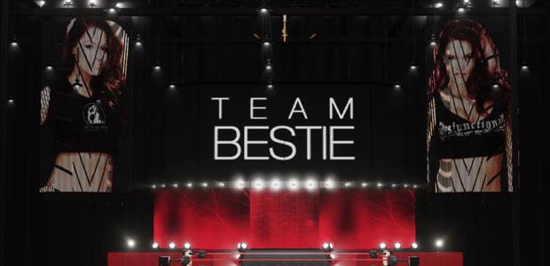 Team Bestie arena in WWE 2K18