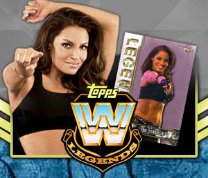 Topps Legends of WWE brings the Stratusfaction