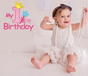 Madi celebrates 1st birthday