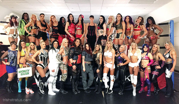 Trish featured in upcoming women's WWE 24, DVD release