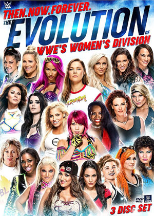 Cover revealed for upcoming WWE women's DVD, Trish in latest WWE books