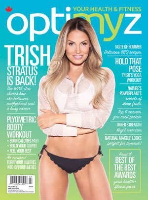 Trish heats up cover of OptiMYz