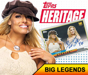 Topps WWE Heritage highlights Trish as Big Legends insert