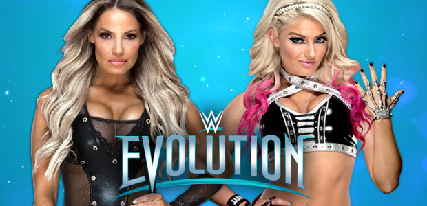 Trish Stratus vs. Alexa Bliss set for WWE Evolution