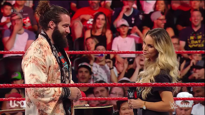 BREAKING: Trish appears on Raw in Toronto