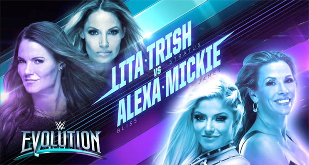 BREAKING: Tag match set for WWE Evolution