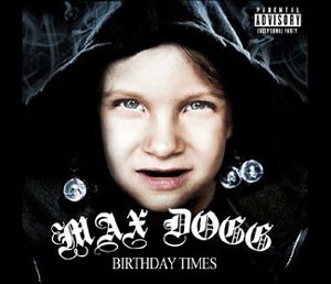 A hip-hop/rap-themed party: Max's 5th birthday