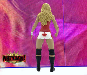 Closer look: Trish Stratus WrestleMania 35 action figure