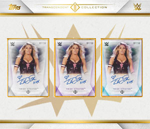 Trish goes Transcendent with Topps