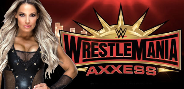 Trish Stratus appearing at WrestleMania Axxess