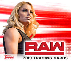Trish featured in 2019 Topps WWE Raw set