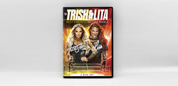 Trish & Lita DVD available for pre-order, first copies to be signed & numbered