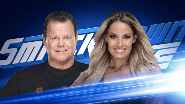 "Just announced: Trish to be a special guest on ""King's Court"" this Tuesday on SmackDown Live"
