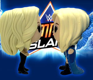 Funko Pop! face-off: Trish Stratus vs. Charlotte Flair