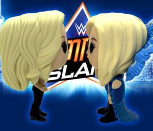 Funko Pop! face-off: Trish Stratus vs. Charlotte Flair