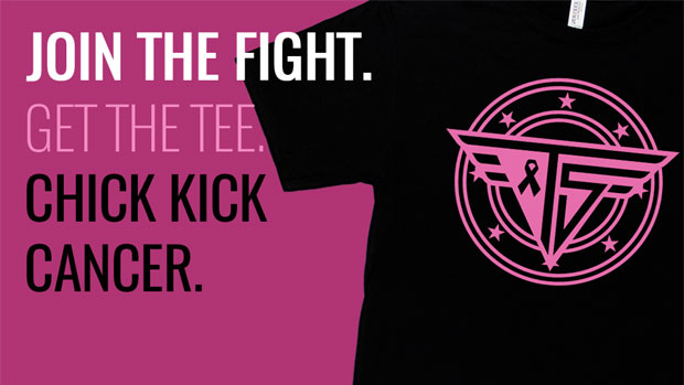 Stratusphere Shop releases limited edition tee for Breast Cancer Awareness Month