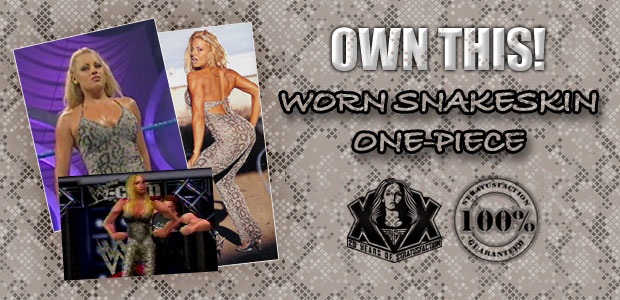 Own a piece of Trish-tory: Trish's in-ring debut outfit will be up for auction!