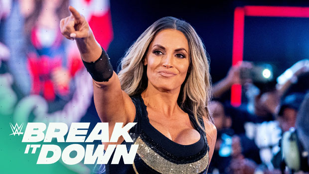 Trish Stratus to be featured on the next episode of WWE Break It Down