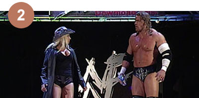 Top 5 Trish & Triple H moments