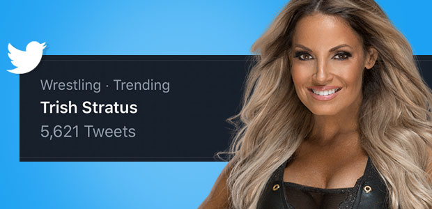 Trish Stratus trends worldwide