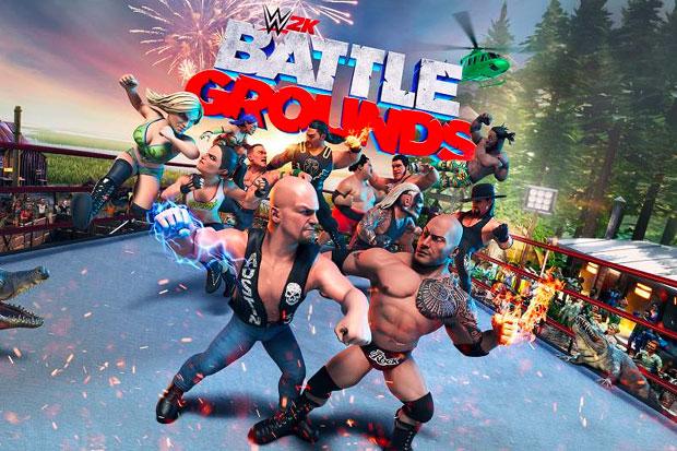 Trish featured as DLC in WWE 2K Battlegrounds