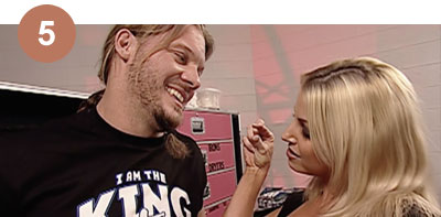 Top 10 Trish & Chris Jericho moments
