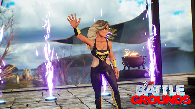 First look at Trish in WWE 2K Battlegrounds