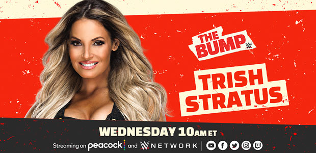 Trish returns to The Bump this Wednesday