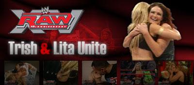 RAW 15th Anniversary Results: Trish & Lita Unite | News