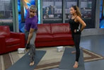 BT Vancouver - Yoga with Trish Stratus